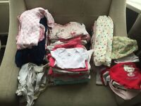 Lovely bundle of girls clothes - mixture of sizes