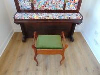 A Beautiful Piano Chair for Sale