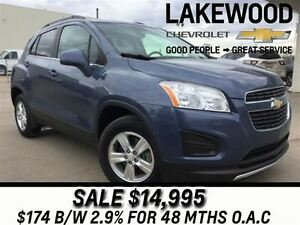 2013 Chevrolet Trax 1LT AWD (Bluetooth, Tinted Windows)