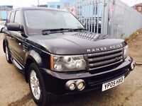 LAND ROVER RANGE ROVER SPORT 2.7 DIESEL AUTOMATIC SE 2005 LEATHER SEATS