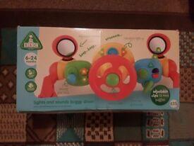 Baby pram toy