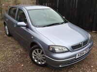 TOP SPEC - VAUXHALL ASTRA SPORT TWINPORT 1.6 - LONG MOT - SERIVCE HISTORY - EXCELLENT CONDITION