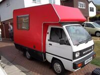 Great example.Good runner, fridge, cooker, sink and wardrobe,lots of storage, stereo, year MoT