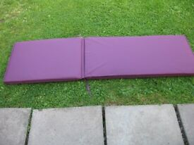 Steamer Chair Purple padded cushions (pair) New Sunbed Cushions