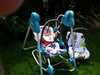 Baby rocking swing (up to 18 kg)