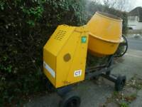 Terex ct diesel mixer