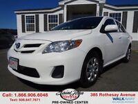 2012 Toyota Corolla CE $114.35 BI WEEKLY!!!