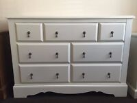 Next Isabella 4+3 Chest of Drawers -New - Ivory