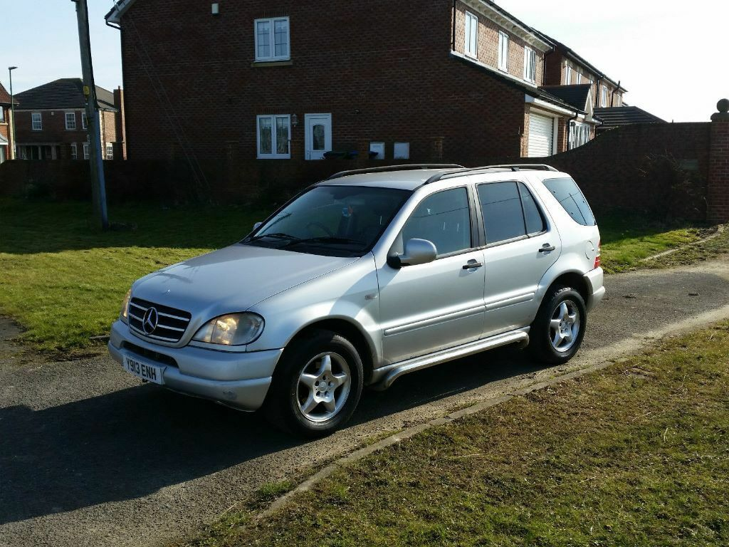 2001 mercedes ml 270 cdi 7 seater 4x4 jeep silver dvd ful leather mot 2017 very cheap jeep dont. Black Bedroom Furniture Sets. Home Design Ideas