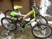 FOR SALE ONE BOYS AND ONE GIRLS BIKE ,£35 EACH