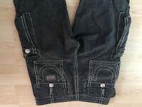True Religion cargo jeans size 34 very rare (original cost £249)