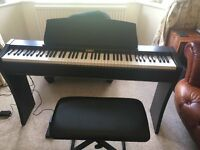Kawai Electronic Piano with stool and pedal, CL25R excellent condition