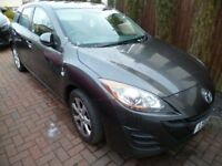 2010 Reg Mazda 3 TS2 1598cc Petrol 52,600 miles Taxed/MOT end Feb 2018