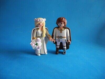 Playmobil Astrid y Hicks de boda con ramo de flores Wedding Hochzeit...