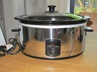 Frigidaire Slow Cooker - used rarely - 3 heat settings - 3.5l capacity