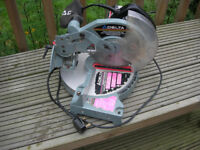 Electric saw delta mitre saw