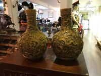 Pair of large Chinese pots.?