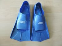 Zoggs swim training fins 7 -8 (UK Adult).