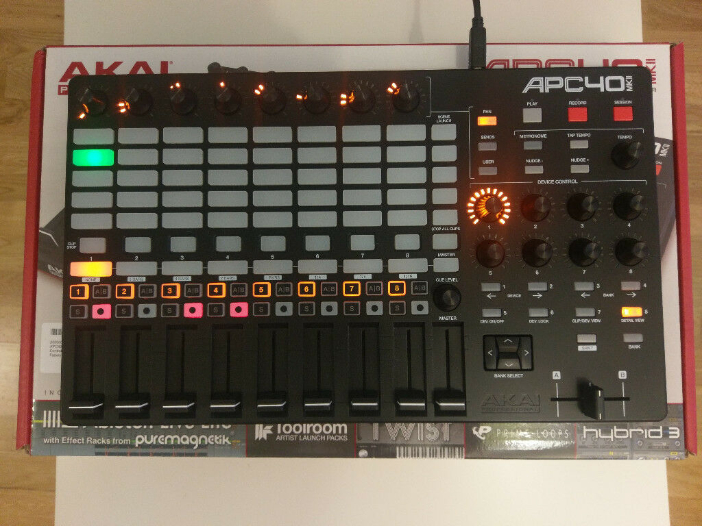 Akai APC40 MK2 APC 40 MKII New Condition With Box Manuals Plastic cover  cost me extra £40 | in Eastham, London | Gumtree