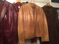 Joblot bundle leather jackets all new £250 or best offer free delivery