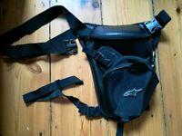 Drop leg bag for bikers/motorcycle riders by Alpinestars
