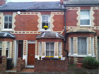Smart small 2 bed terrace house 6 minutes walk to Oracle, 10 mins to station.
