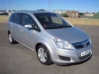 2009 VAUXHALL ZAFIRA 1.8 LITRE 7 SEATER VERY NICE CAR