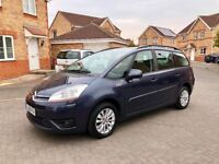 2010 CITROEN C4 GRAND PICASSO 1.6 DIESEL, 7 SEATER, MOT MAY 2019, CRUISE