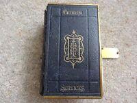 BOOK OF COMMON PRAYER - CHURCH SERVICES 1880