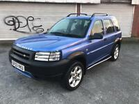 2003 Land Rover Freelander 4x4 (off road, jeep, Nissan, Audi, BMW, vw, Toyota, Honda, Renault)
