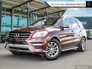 2014 Mercedes Benz ML350 BlueTEC 4MATIC