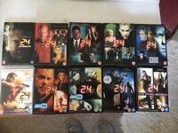 Kiefer Sutherland's '24' - All 8 Series.