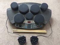 Clarity 7 Pad Electronic Drum Machine
