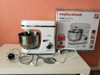 Morphy Richards Total Control White Stand Mixer