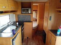 2003 Geist LV550 4 berth caravan with fixed double bed to rear