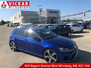 2016 Volkswagen Golf R 2.0 TSI/GOLF R/LOCAL TRADE!!!