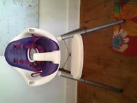 Mamas and Papas Juice Highchair - Purple