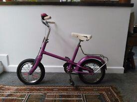 Vintage Raleigh Child's Bike