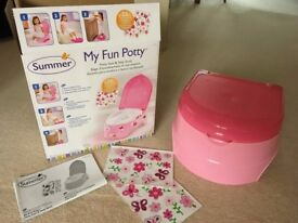 New Still in Box - Childs Trainer Potty and Step Stool