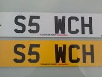Cherished number S5 WCH