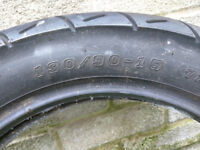 MOTORCYCLE TYRE 130/90/15