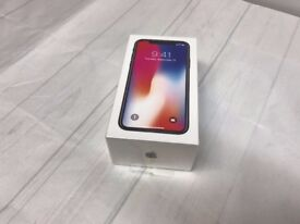 iPhone X 256 slate grey, sealed, Factory unlocked, straight from Apple