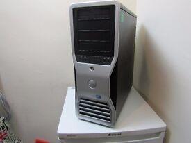 DELL PRECISION T7500 QUAD CORE XEON E5506, 24GB RAM, NVIDIA QUADRO 2000, 1TB HDD