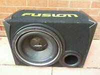 Fusion sub very strong and propa made speaker! Can deliver! Thank you