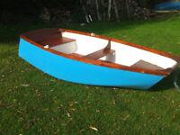 Fibreglass dinghy