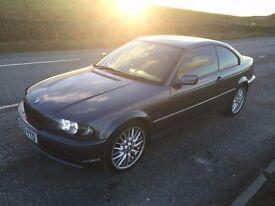 BMW 318ci coup grey