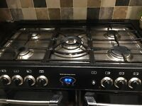 Belling Rangemaster dual fuel range cooker - 5 ring gas hob, two electric fan ovens, one grill/oven