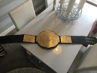 WORLD HEAVYWEIGHT WRESTLING CHAMPIONSHIP BELT