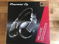 Pioneer HDJ X10 Silver Headphones - Brand New Boxed ( CDJ 2000 DJM 900 XDJ )
