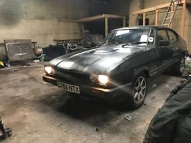 1987 Ford Capri 2.0 laser, swapped with complete 3.0 L engine